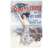 Fight or Buy Bonds -- WWI Poster