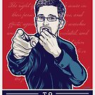 Edward Snowden I Want You by LibertyManiacs