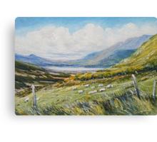 Dingle hill side Canvas Print