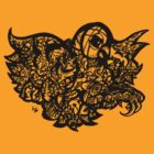 Owl Baby Adults Tee by Frank Louis Allen by Frank Allen