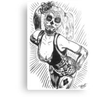 Sugar Harley Metal Print