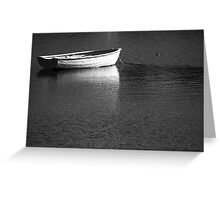 Waiting - Barnes Bay Greeting Card