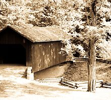 Covered Bridge in Beaver Creek State Park by Michelle Joseph-Long