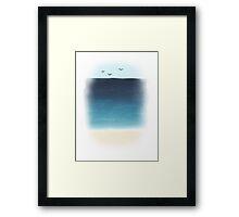 well it's an ocean Framed Print
