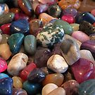 Polished Pebbles by Jan  Tribe