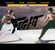 Chuck Norris v Bruce Lee - Street Fighter Edition by HarryRap