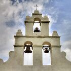 Bells of Mission San Juan by Terence Russell