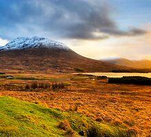 Loch Tulla - Scottish Highlands Landscape by Mark Tisdale