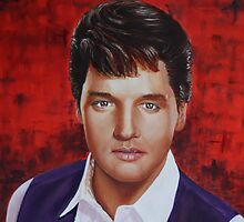 Elvis Presley by Anthony Superina