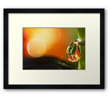 Humble in the Presence Framed Print