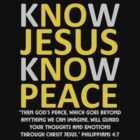 kNOw Jesus kNOw Peace 2 by josesmcalusay