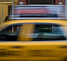 Yellow Taxi by Roger McNally