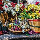 Still Life On Sicilian Cart by TonyCrehan