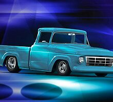 1957 Ford F100 Pick-Up Truck by DaveKoontz