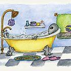 Alien in My Bathtub by Kim  Harris