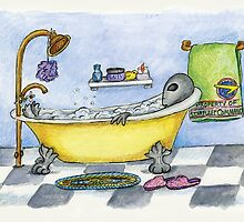 Alien in My Bathtub by Kim  Harris