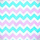 Aztec Chevron Pattern by Paulo Capdeville
