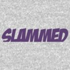 Slammed Purple (Sticker / T-Shirt) by vincepro76