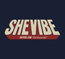 SheVibe Comic Logo by shevibe