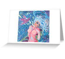 Original Acrylic Painting (Artemis Ataraxia) Greeting Card