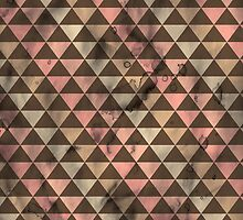 Neapolitan Triangles - Grunge  by pandamanda827