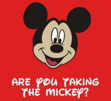 Disney - Taking The Mickey? by gemzi-ox