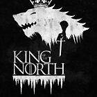 King of the North - white by Daniel Cross