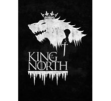 King of the North - white Photographic Print