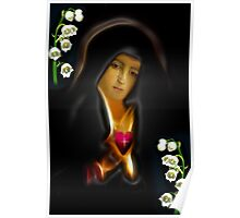 ✿♥‿♥✿MY VERSION ..TEARS OF THE VIRGIN MARY..PICTURE/CARD✿♥‿♥✿ Poster
