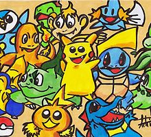 Pokemon  by acillustrations