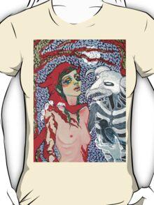 Original Acrylic Painting (Meeting With Aka Manah) T-Shirt