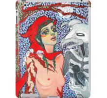 Original Acrylic Painting (Meeting With Aka Manah) iPad Case/Skin