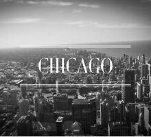 Chicago B&W by Pauline Forgeard-Grignon