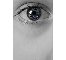 blue eye Photographic Print