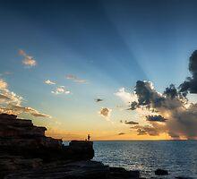 Fishing off the Rocks by Mieke Boynton