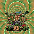 Teenage Mutant Ninja Turtles iPad Case by TheTubbyLife