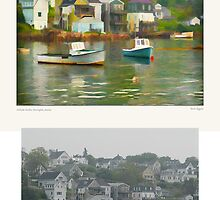 Hillside Harbor, Stonington, Maine by Dave  Higgins