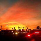 Sunset Commute by wayneyoungphoto