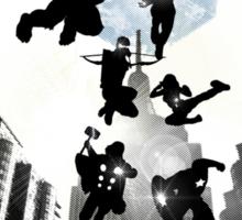 Heroe's Assemble! Sticker