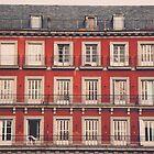 Plaza Mayor by Delphine Comte