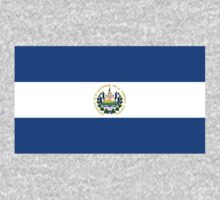 El Salvador Flag by cadellin