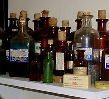 A Doctors Bottles by WildestArt