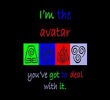 I'm the Avatar. by WHOVIAN423