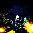 Philadelphia Pennsylvania At Night From The River Walk by MotherNature2