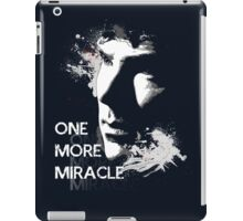 Sherlock - One More Miracle - BLUE (Iphone & Ipad ONLY) iPad Case/Skin