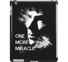 Sherlock - One More Miracle - GREY (Iphone & Ipad ONLY) iPad Case/Skin