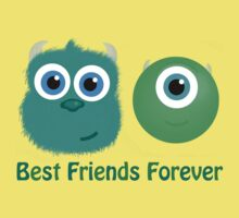 Best Friends, Mike and Sully by Kristen Lafleche