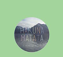 Hakuna Matata by mangolindsay