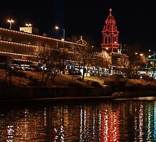 Plaza Lights by BackRoadsPhotog