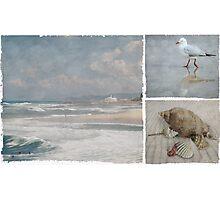 Beach Triptych 1 Photographic Print